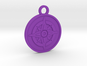 The Star in Purple Processed Versatile Plastic