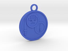 Knight of Swords in Blue Processed Versatile Plastic