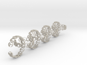 18.11 mm ring 14 poses non groupable (8).stl (5) in Natural Sandstone