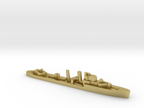 HMS Intrepid destroyer 1:2400 WW2 in Natural Brass