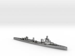 Bartolomeo Colleoni cruiser 1:1800 WW2 in Natural Silver