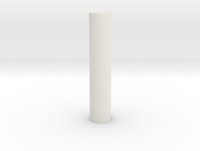 Pipe v1 in White Natural Versatile Plastic