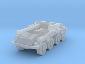 Sdkfz 234 1/160 in Smooth Fine Detail Plastic