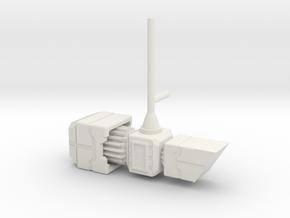 TF WFC Siege - 1-handed Magnus Hammer in White Natural Versatile Plastic