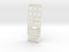 1.4 HUGHES 500D COCKPIT (D) in White Processed Versatile Plastic