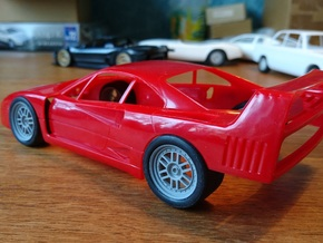 F40 GTE Enkei in Smoothest Fine Detail Plastic