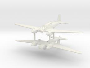 1/200 Focke-Wulf Fw-57 (x2) in White Natural Versatile Plastic