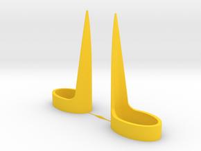 Lighter Friend 2 Pack in Yellow Processed Versatile Plastic