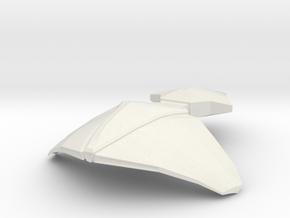 NAVIS 18 Attack Submarine in White Natural Versatile Plastic