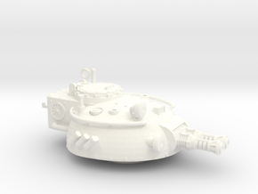 28mm Rauber tank turret - flamethrower in White Processed Versatile Plastic