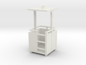 Mannkorb 1/50 Heavy Version in White Natural Versatile Plastic