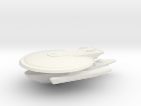 Curry Class in White Natural Versatile Plastic