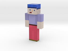 YUUGIMK   Minecraft toy in Natural Full Color Sandstone