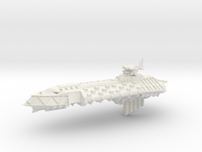 Chaos Cruiser Concept - B  in White Natural Versatile Plastic