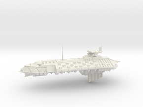 Chaos Cruiser Concept - G  in White Natural Versatile Plastic