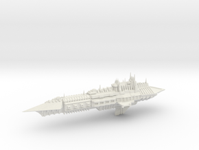 Chaos Cruiser Imperial Renegade - 2 in White Natural Versatile Plastic