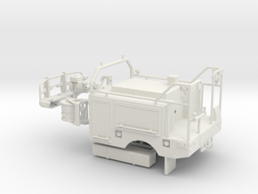 1/50th Wildlands Fire Brush Truck Body in White Natural Versatile Plastic