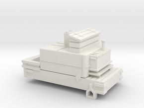 00 Scale Derwent Water Tender Scratch Aid in White Natural Versatile Plastic