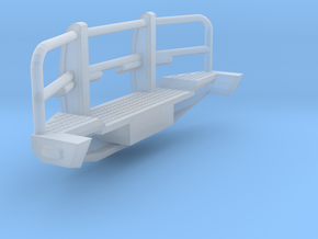 1/50th Heavy Off road truck Bumper 8' wide in Smooth Fine Detail Plastic
