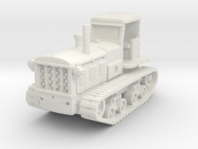 STZ 3 Tractor (late) 1/100 in White Natural Versatile Plastic