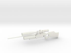 1:12 Miniature FX Royale 500 in White Natural Versatile Plastic: 1:12