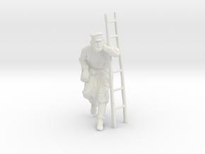 Printle C Homme 1576 - 1/18 - wob in White Natural Versatile Plastic