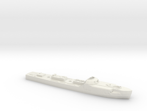 S-100 Schnellboot 1/300th Scale in White Natural Versatile Plastic
