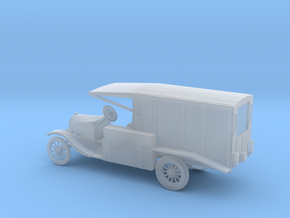 1/87 Scale Model T Ambulance in Smooth Fine Detail Plastic