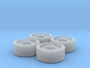 M4 Sherman VVSS D78450 Wheel Set in Smoothest Fine Detail Plastic