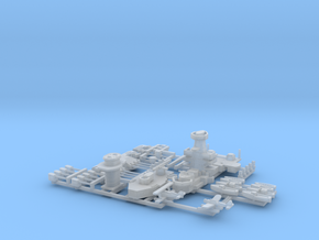 Graf Spee Detail Set in Smoothest Fine Detail Plastic