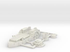 Fredricksburg Class Support Carrier in White Natural Versatile Plastic