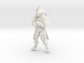 Greater Good Lost Sniper in White Natural Versatile Plastic