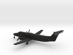 Beechcraft 1900C in Black Natural Versatile Plastic: 1:200