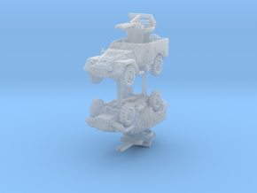 BTR 40 A (2 pieces) 1/285 in Smoothest Fine Detail Plastic