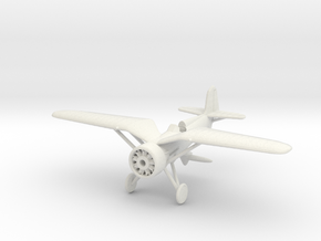 1/144 PZL P11 in White Natural Versatile Plastic