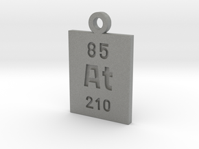 At Periodic Pendant in Gray PA12