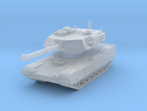 M1 Abrams Tank 1/160 in Smooth Fine Detail Plastic