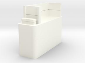 Kato Shay wood burner tank in White Processed Versatile Plastic