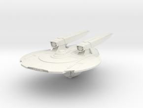 Federation Knoxville Class HvyCruiser in White Natural Versatile Plastic