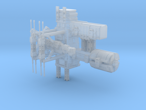 Aurora Class Deep Space station/ Refinery in Smooth Fine Detail Plastic