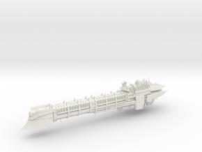 Imperial Legion Long Cruiser - Armament Concept 4 in White Natural Versatile Plastic