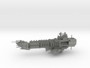 Navy Alternative Capital Cruiser - Concept 2  in Gray PA12