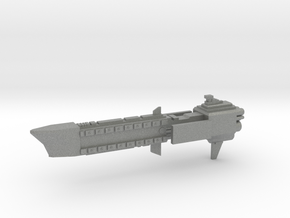 Navy Frigate - Concept 3  in Gray PA12