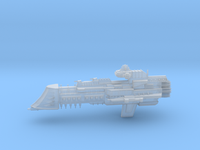 Overlord Class Cruiser in Smooth Fine Detail Plastic