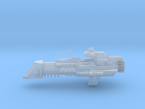 Navy Lunar Class Cruiser in Smooth Fine Detail Plastic