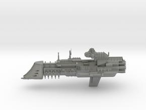 Navy Lunar Class Cruiser in Gray PA12