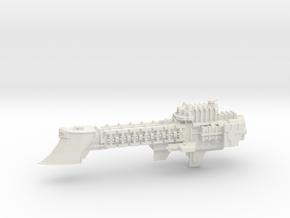 Imperial Frigate - Concept 2  in White Natural Versatile Plastic