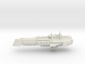 Imperial Legion Cruiser - Concept 6 in White Natural Versatile Plastic