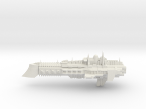 Imperial Legion Cruiser - Concept 7 in White Natural Versatile Plastic