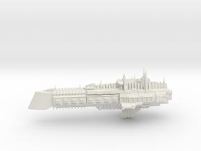 Imperial Legion Cruiser - Concept 9 in White Natural Versatile Plastic